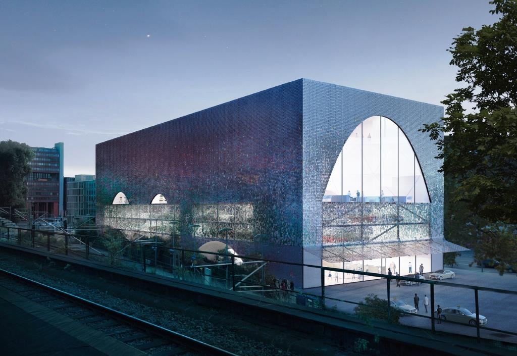 Der 1. Spielcasino-Entwurf ist von der Allmann Sattler Wappner Architekten GmbH