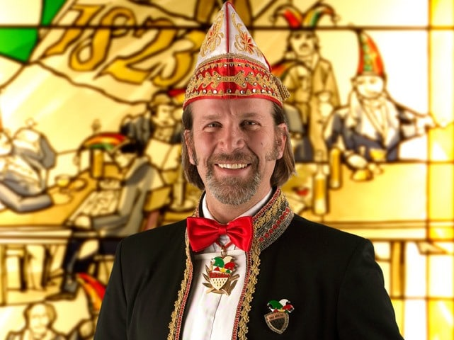 Christoph Kuckelkorn, Vizepräsident des Festkomitees und Zugleiter des Kölner Rosenmontagszuges. - copyright: Festkomitee Kölner Karneval