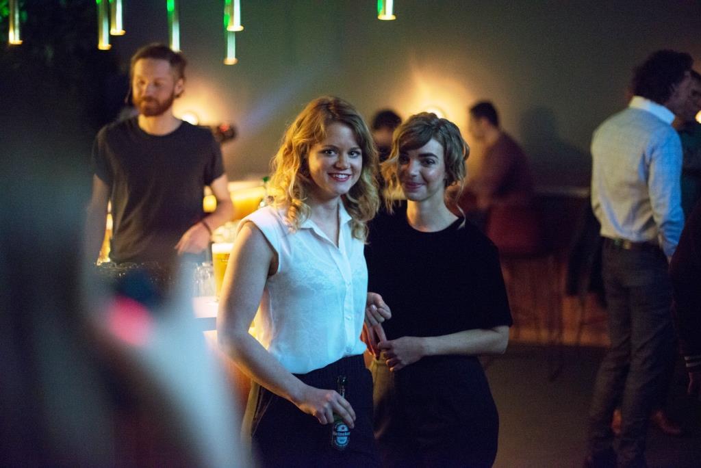 """Die Gewinnerinnen der """"SHAPE YOUR CITY"""" Kampagne: Luisa und Rike - copyright: Frederike Wetzels"""