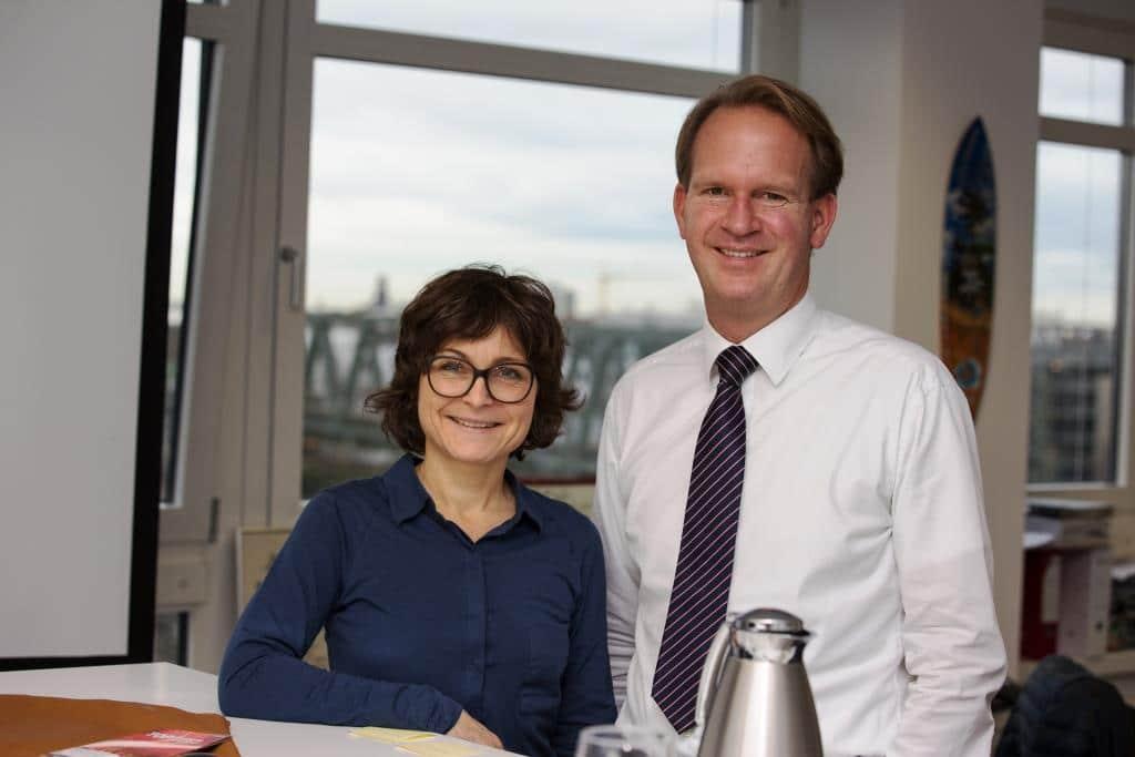 Stefan Löcher im Gespräch mit CityNEWS-Chefredakteurin Astrid Waligura - copyright: CityNEWS / Alex Weis