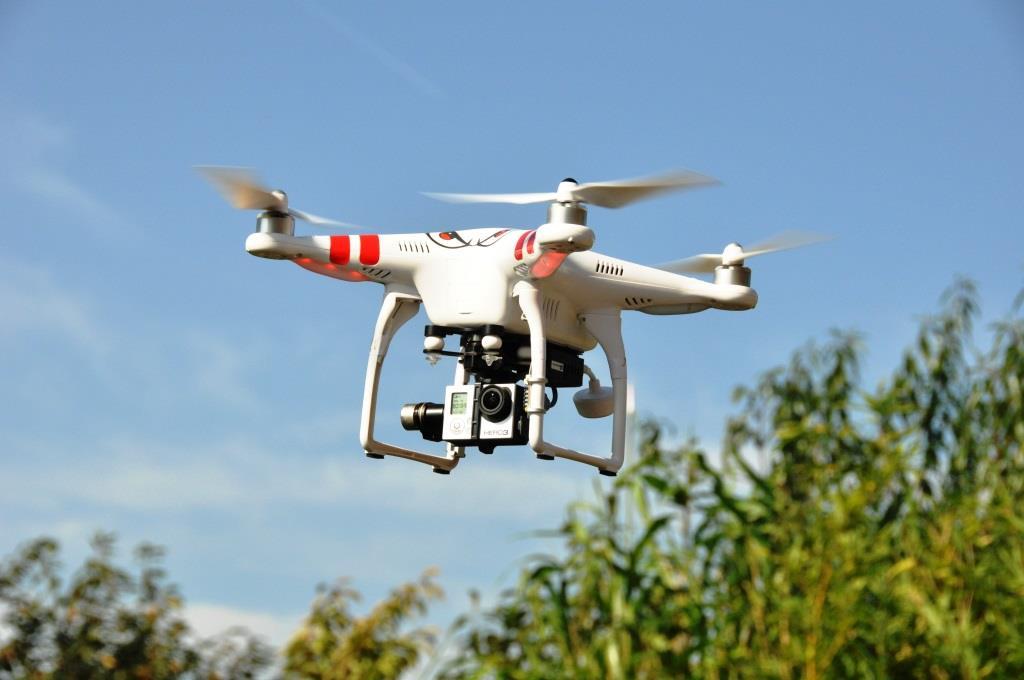 Flugverbot für Drohnen - copyright: pixabay.com