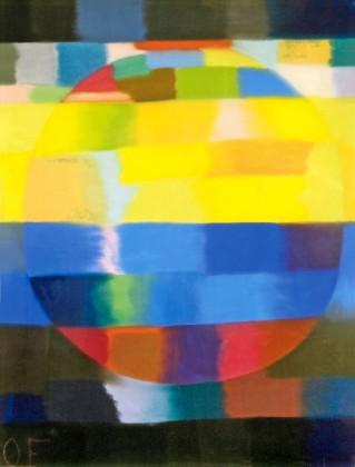 Museum Ludwig Otto Freundlich. Kosmischer Kommunismus, 18. Februar bis 14. Mai 2017 Abb.. Otto Freundlich, La Rosace II, 1941, Gouache auf Karton, 65 x 50 cm Donation Freundlich – Musées de Pontoise, Foto: Musées de Pontoise