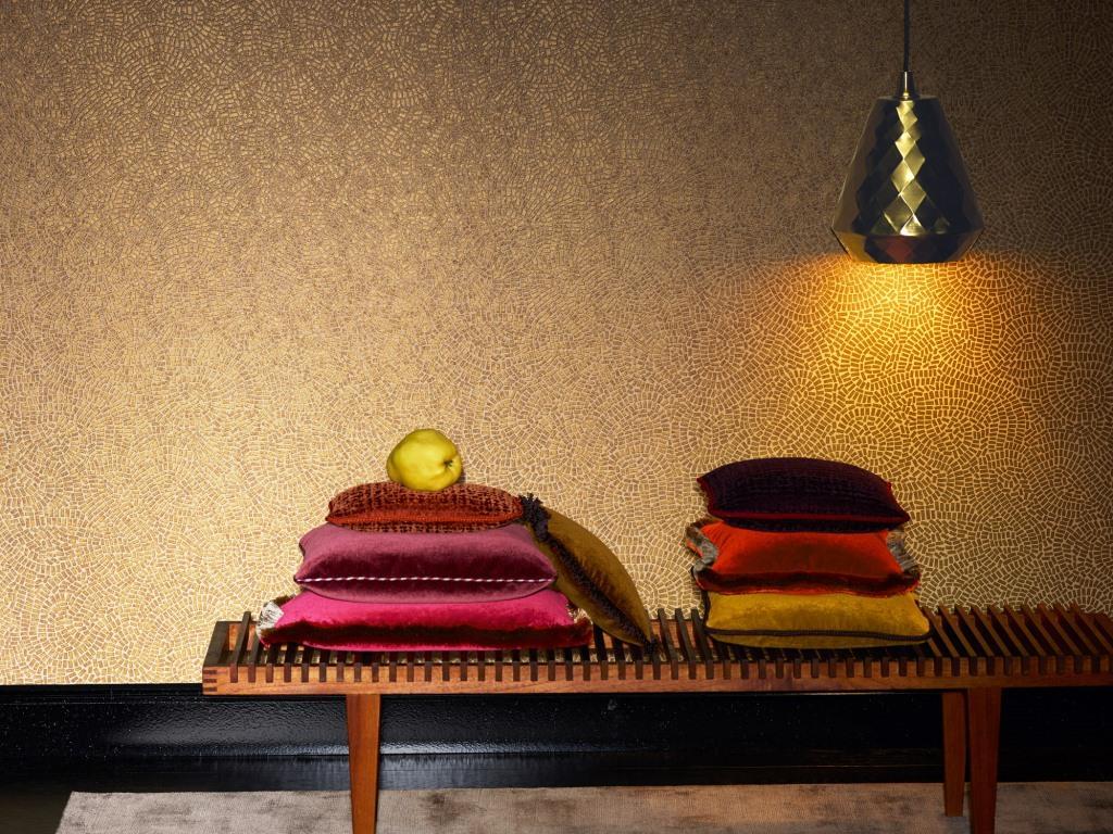 Teppiche, Tapeten, Textilien - das Revival der Stoffe im Wohnbereich - copyright: Zimmer+Rohde; Identity