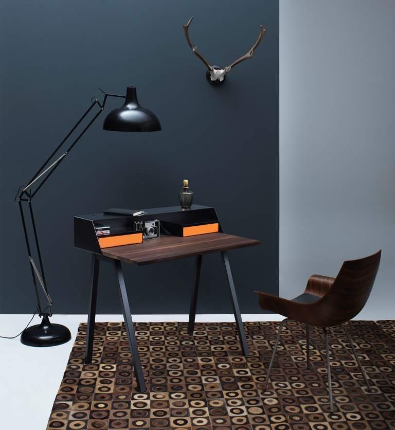 Zeitgefühl der Fifties in zeitlosen Formen: Möbel des Mid-Century-Style sind so angesagt wie nie - copyright: Müller Möbelfabrikation; PS04