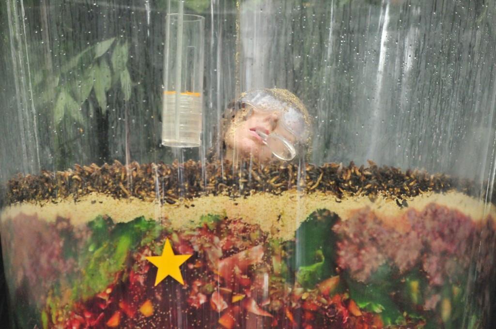 """Finalistin Hanka Rackwitz spielt in ihrer letzten Prüfung u.a. für die Vorspeise. - Foto: RTL / Stefan Menne <a href=""""http://www.rtl.de/cms/sendungen/ich-bin-ein-star.html"""" title=""""Alle Infos zu Ich bin ein Star - Holt mich hier raus! im Special bei RTL.de"""" target=""""_blank"""" rel=""""nofollow"""">Alle Infos zu Ich bin ein Star - Holt mich hier raus! im Special bei RTL.de</a>"""