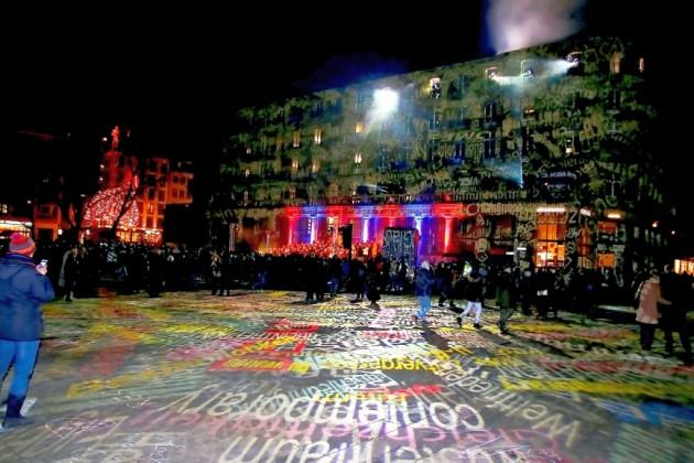 Projektionen, Musik und Atmosphäre - copyright: CityNEWS / Thomas Pera