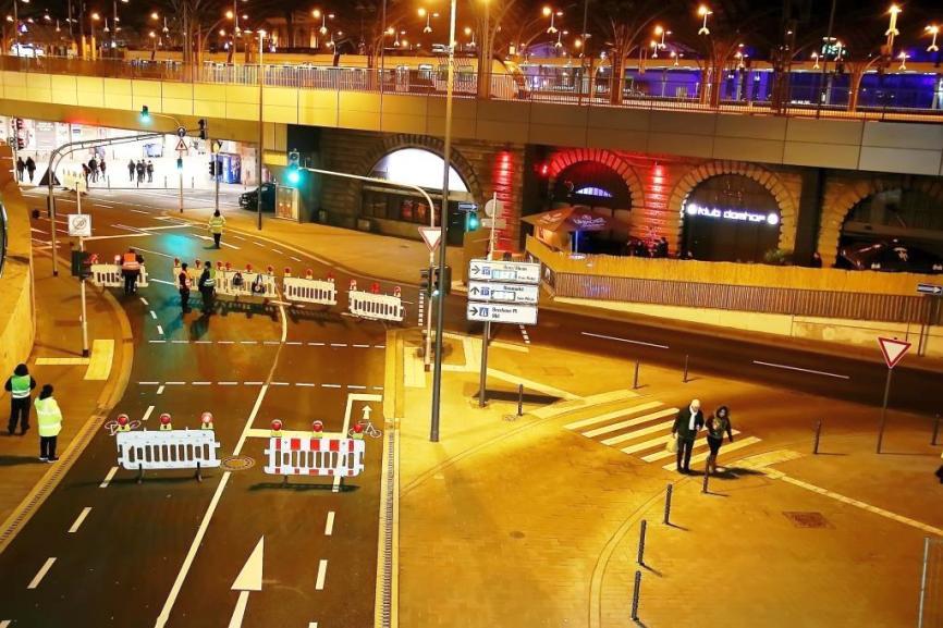 An Silvesrer 2018 wird es in Köln zu zahlreichen Verkehrssperrungen kommen. copyright: CityNEWS / Thomas Pera