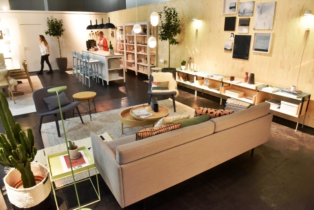 wohnen und einrichten 2017 die trends der imm cologne. Black Bedroom Furniture Sets. Home Design Ideas