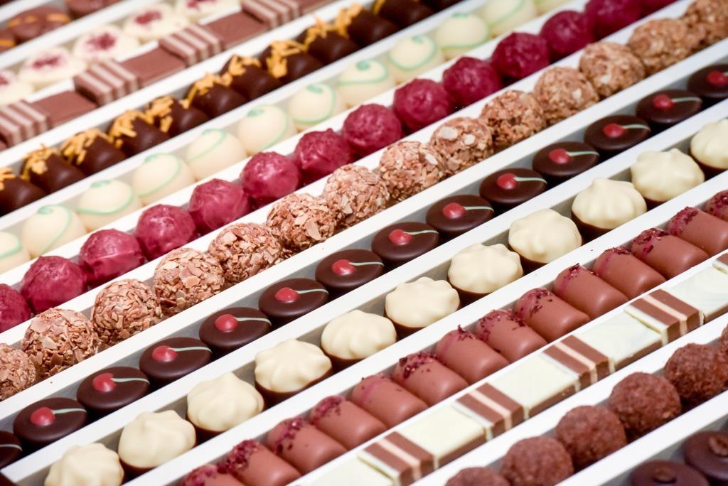 Schokoladen in allen Varianten - copyright: Koelnmesse GmbH / Thomas Klerx