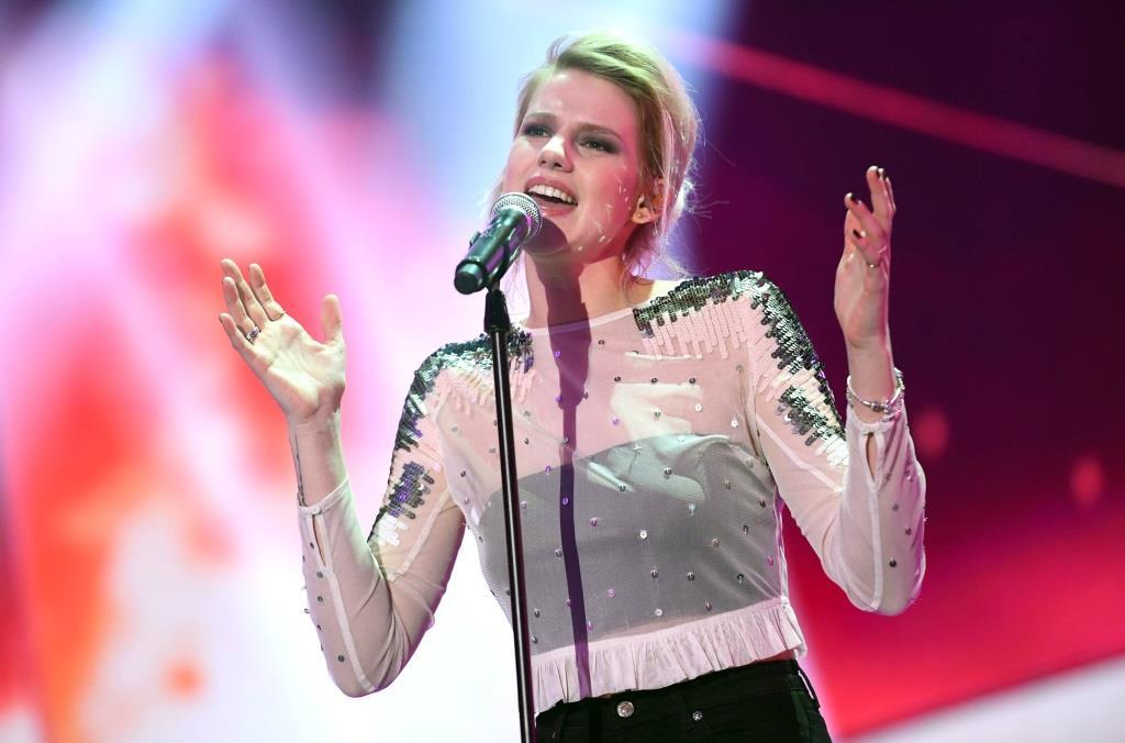 """Levina gewinnt den deutschen ESC-Vorentscheid """"Unser Song"""" mit """"Perfect Life"""" - copyright: NDR / Willi Weber"""