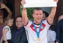 Poldi geht nach Asien: Jetzt auf einmal doch - Lukas Podolski wechselt im Sommer nach Japan - copyright: CityNEWS / Alex Weis