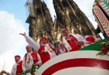 Mittendrin im Rosenmontagszug 2017 in Köln: Kostenloser 360 Grad Live-Stream - copyright: KölnTourismus GmbH / Dieter Jacobi