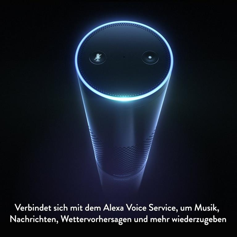 "Alexa – das ""Hirn"" hinter Amazon Echo - copyright: Amazon"