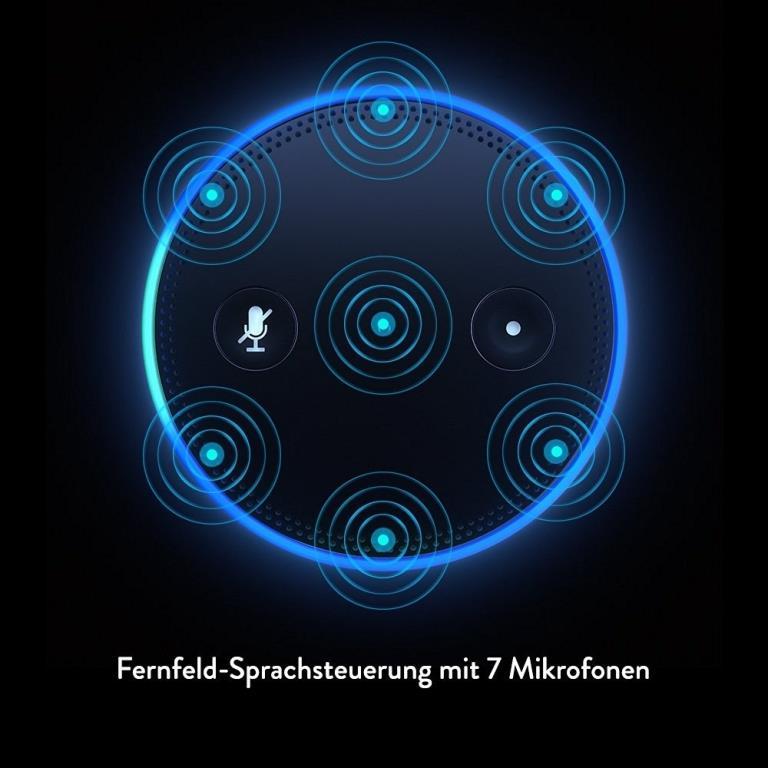 Fernfeld-Spracherkennung mit Richtstrahl-Technologie - copyright: Amazon