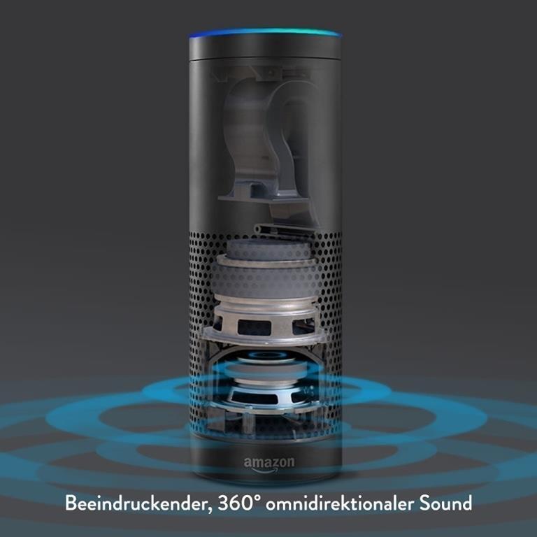 Omnidirektionaler, raumfüllender Sound - copyright: Amazon