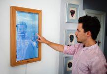 DIRROR - Wohnen mit dem ersten digitalen Spiegel der Welt. copyright: Dirror