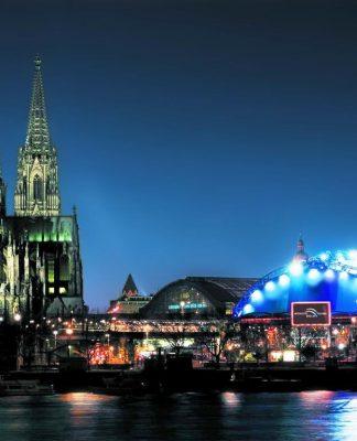 Noch bis Ende Oktober ist die Rocky Horror Show im Musical Dome Köln copyright: Musical Dome Köln