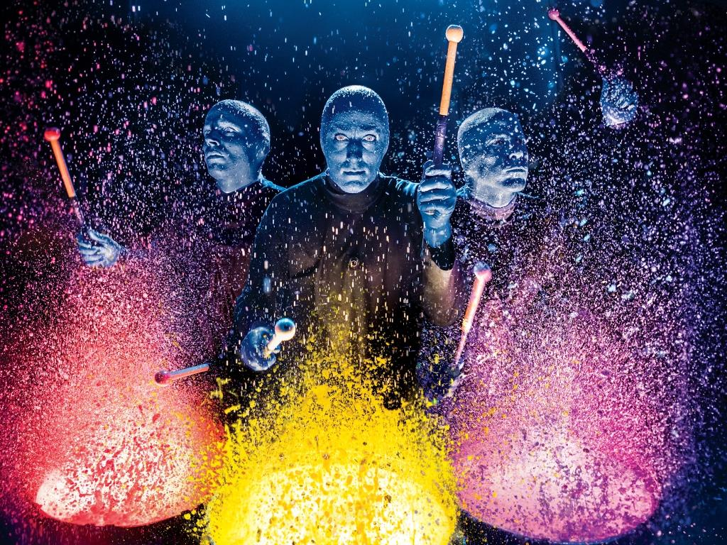 Blue Man Group - copyright: Lindsay Best