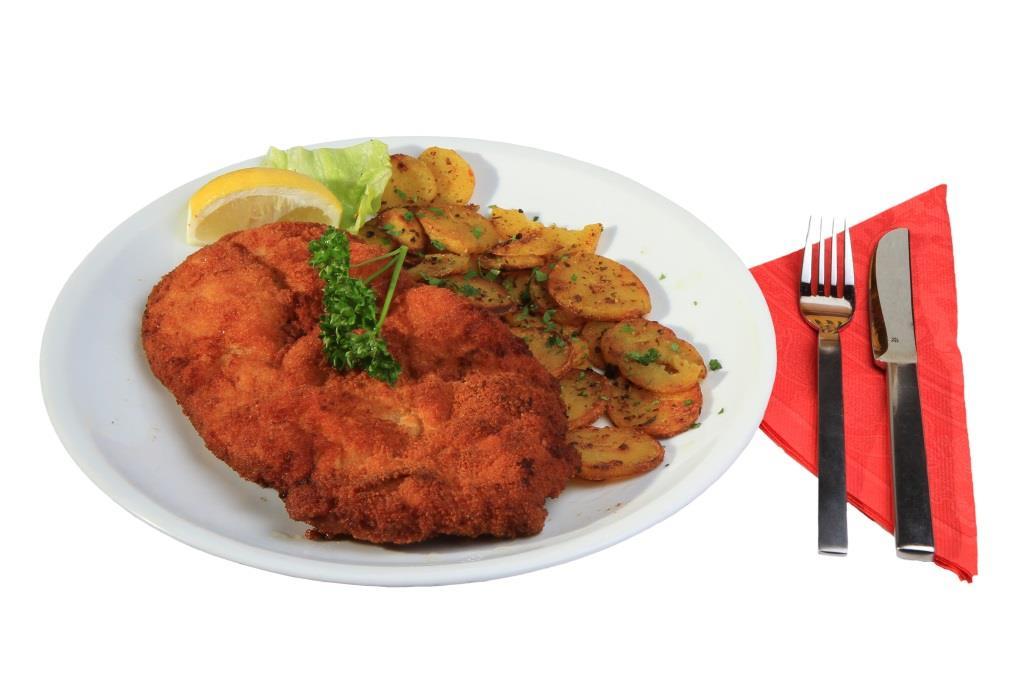 Das original Wiener Schnitzel – nur echt mit Kalbfleisch zubereitet - copyright: pixabay.com