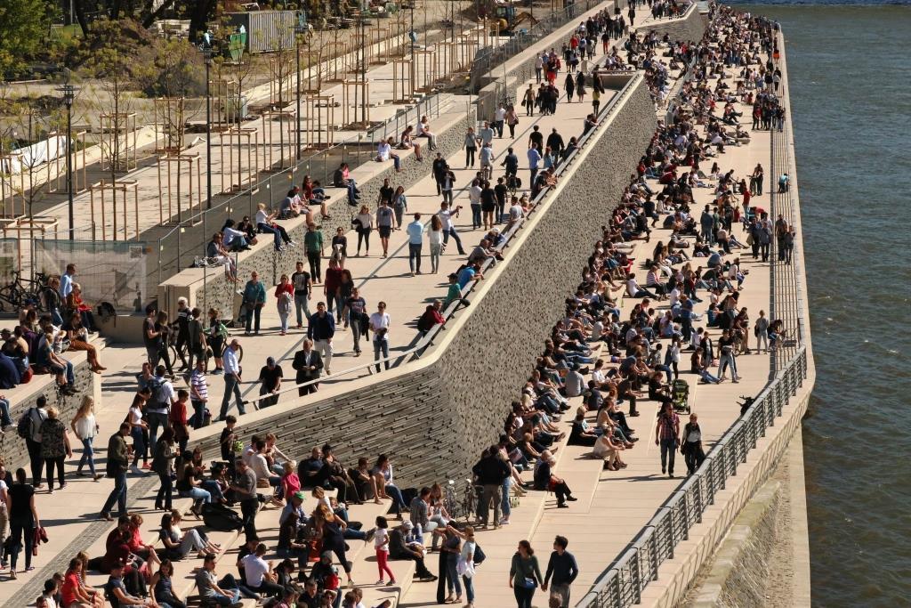 Vorfälle am Rheinboulevard besorgniserregend - copyright: CityNEWS / Alex Weis