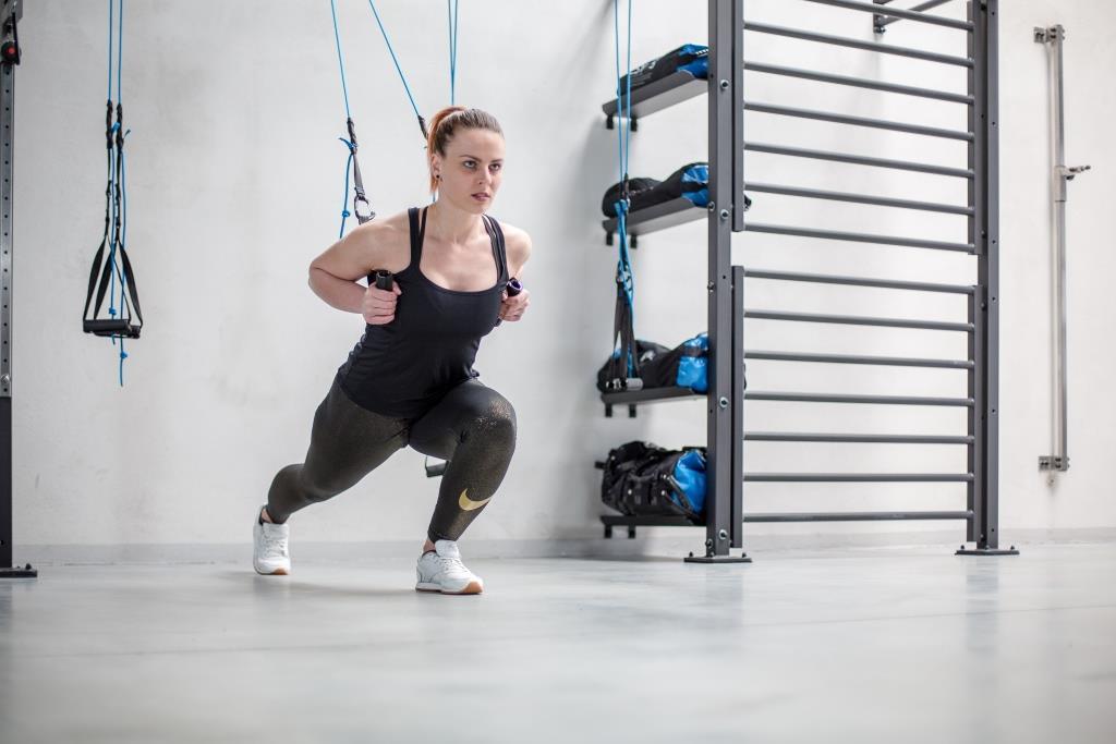 Training ganzer Bewegungsabläufe möglich - copyright: aerobis fitness GmbH