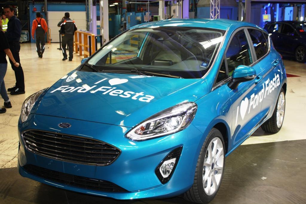 Der neue Fiesta ist etwas größer als sein Vorgänger. Sein äußeres Erscheinungsbild wirkt etwas aggressiver und somit auch dynamischer als zuvor. - copyright: CityNEWS / Christian Esser