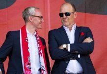 Geschäftsführung des 1. FC Köln verlängert Verträge: Alexander Wehrle und Jörg Schmadtke bleiben bis 2023 - copyright: CityNEWS / Alex Weis