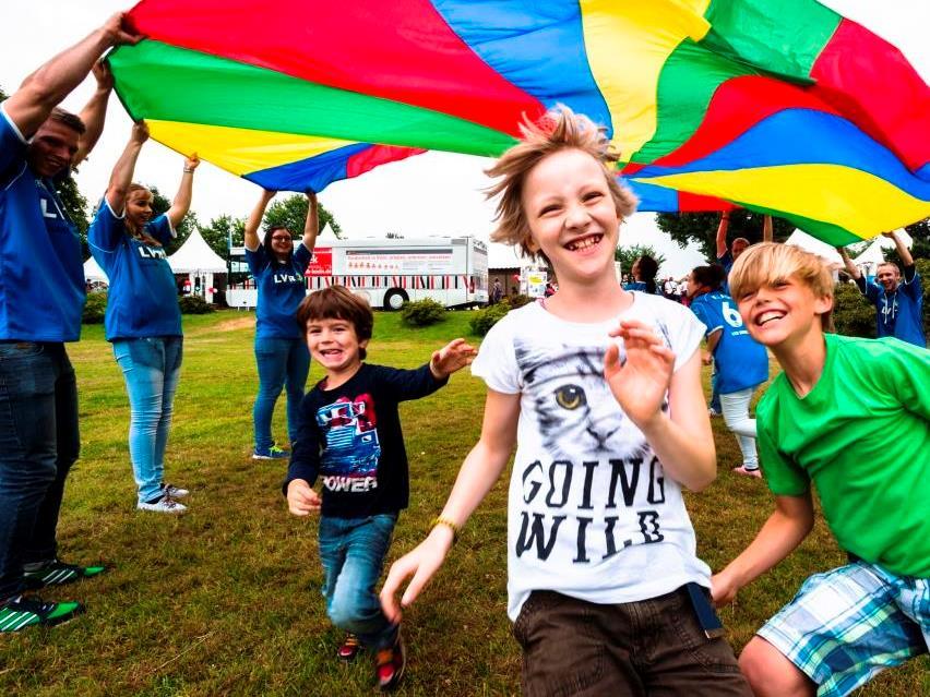 Tag der Begegnung am 20. Mai 2017 im Rheinpark Köln: Europas größtes Fest für Menschen mit und ohne Behinderung - copyright: Lothar Kornblum / LVR