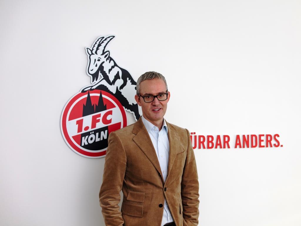 """Alexander Wehrle: """"Als 1. FC Köln möchten wir nicht die Engagements anderer Vereine kopieren oder kurzfristig auf einen populären Zug mit ungewissem Ziel aufspringen."""" copyright: CityNEWS / Alex Weis"""