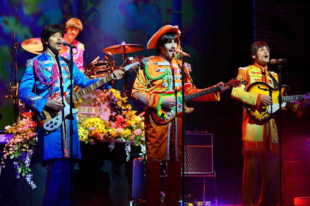 Die Beatles zu Gast in der Domstadt. copyright: Paul Coltas