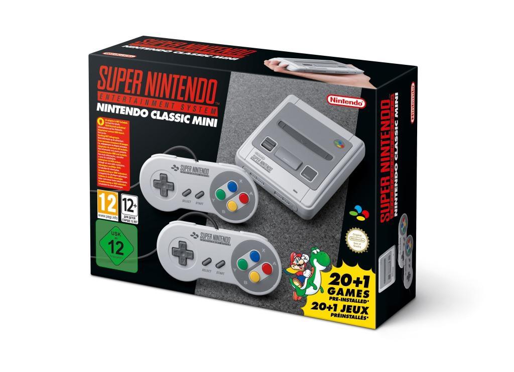 Back to the roots: Super Nintendo Entertainment System (SNES) kehrt zurück - copyright: Nintendo