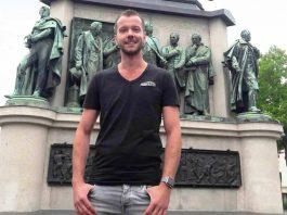 """KluST-Vorstand Martin Rätze zwischen CSD- / ColognePride-Vorbereitung und Freude über die """"Ehe für alle"""" - copyright: CityNEWS / Christian Esser"""