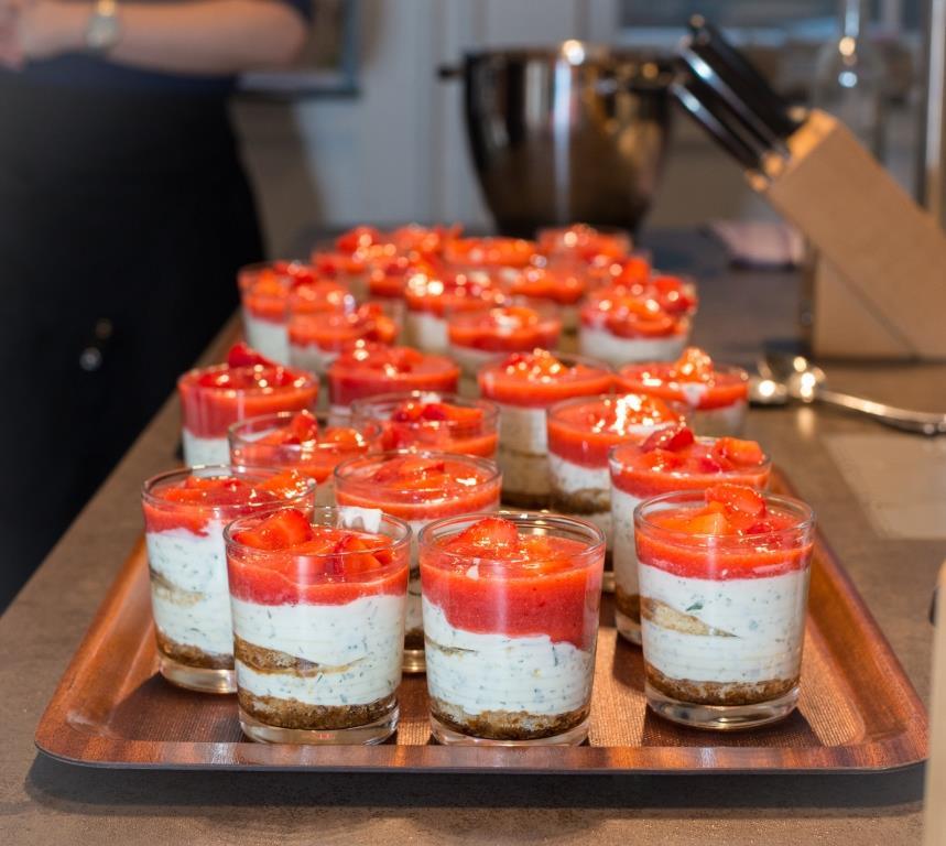 In modernem und stilvollem Ambiente können sich die Gäste der Kochfabrik verwöhnen lassen. - copyright: Kochfabrik Köln über Event Inc