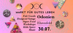Markt Für Gutes Leben im Odonien Köln - copyright: PR