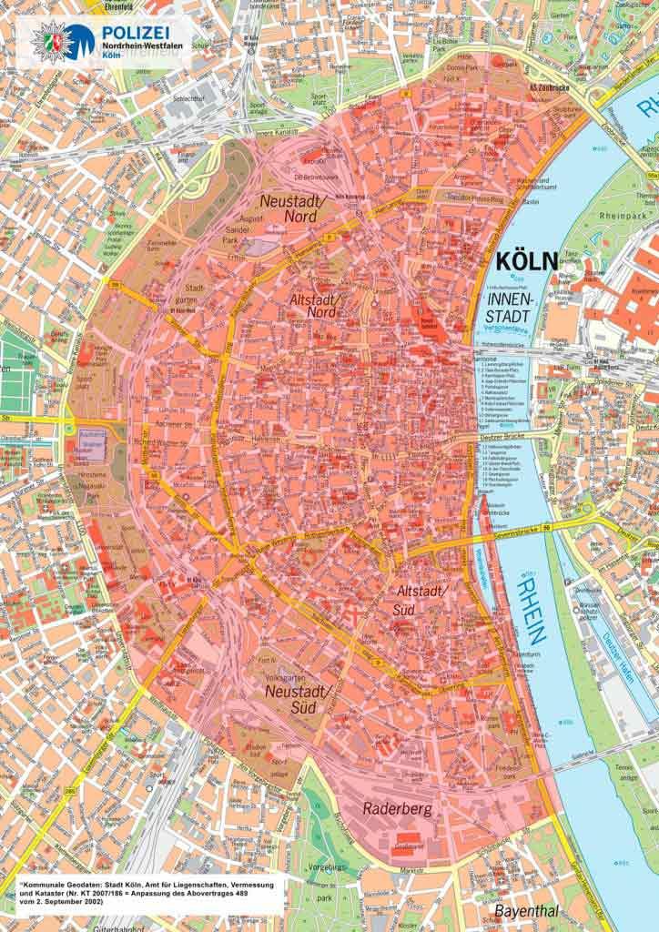 Zum CSD wird es ein LKW-Fahrverbot in Köln geben. - copyright: Polizei Köln