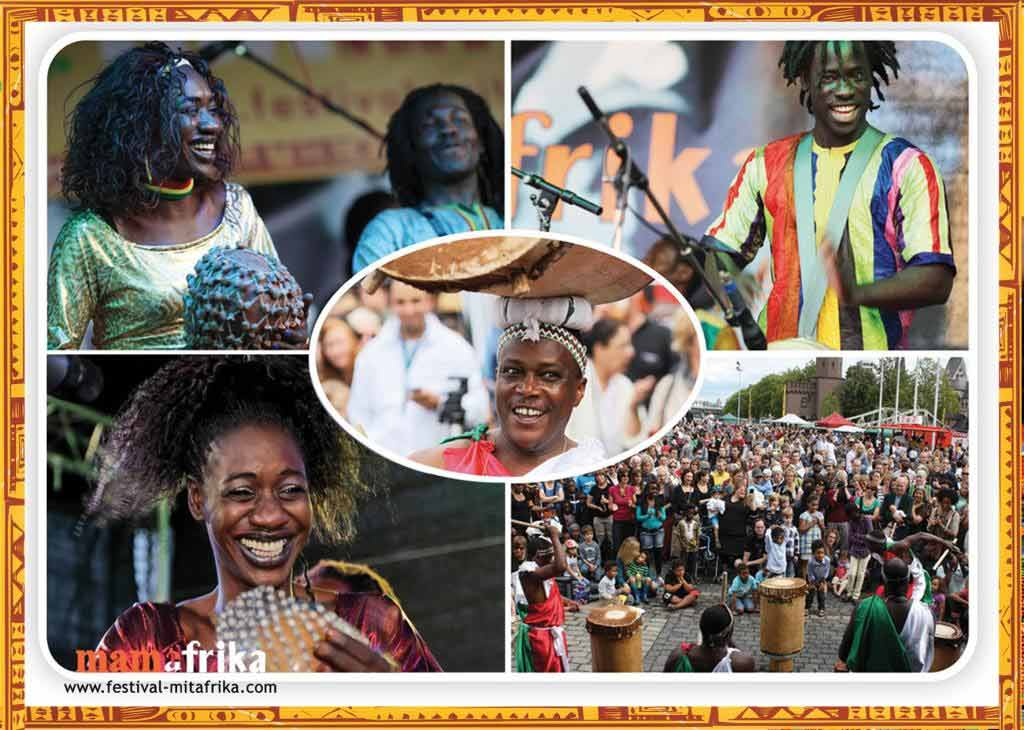 Afrika mitten in Köln: vom 11. bis 13. August 2017 im Schokoladenmuseum - copyright: Mama Afrika e. V.