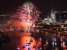 Das große Feuerwerk der Kölner Lichter 2019 copyright: Piccolo / Fotolia