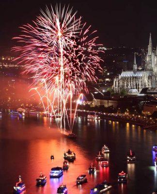 Alle Infos zu den Kölner Lichter 2018: Paintings – Die Feuermaler von Köln copyright: Piccolo / Fotolia
