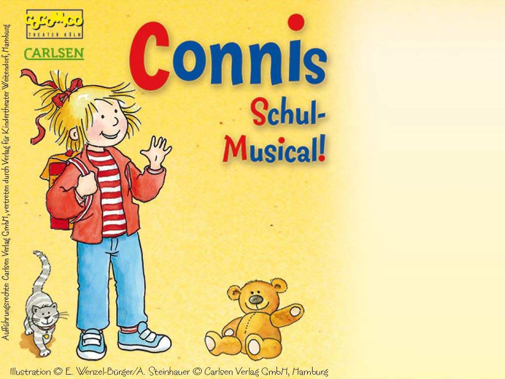 Conni - das Schul-Musical - copyright: COCOMICO