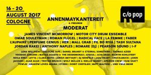 Vom 16. bis zum 20. August 2017 bringt das c/o pop Festival wieder internationale Stars, gefeierte Newcomer und noch unbekannte Geheimtipps auf die Kölner Musikbühnen! - copyright: c/o pop