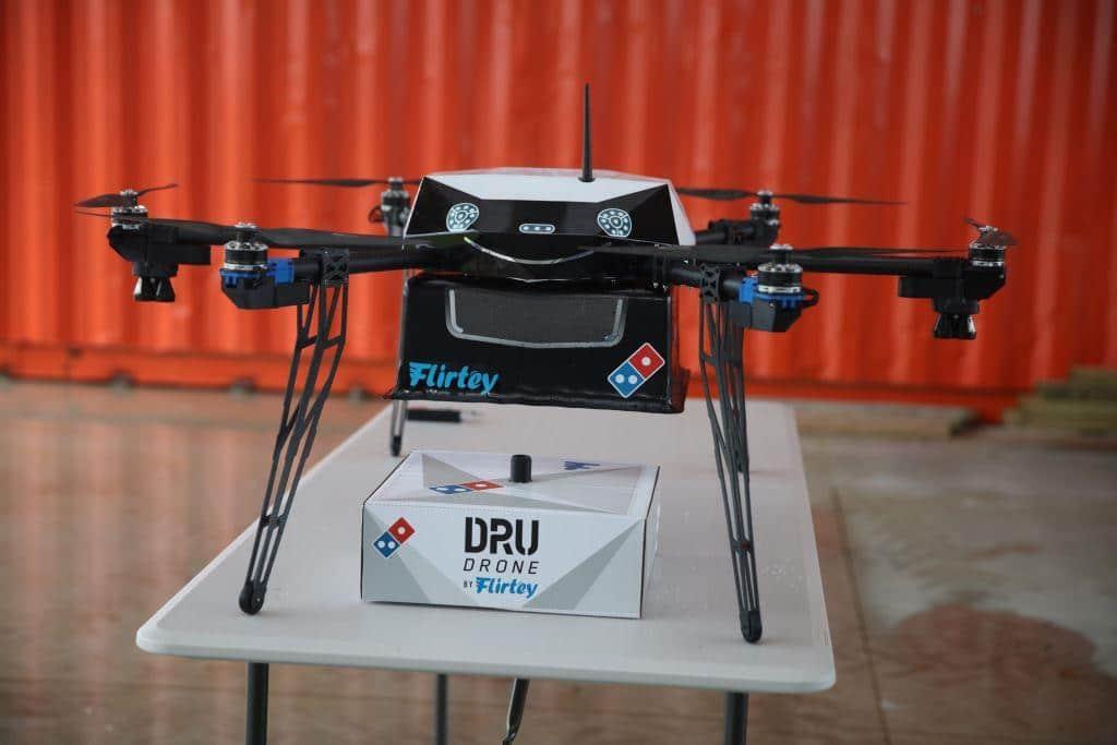 Drohnen -Testflüge bereits erfolgreich - copyright: Domino's Pizza Enterprises Limited