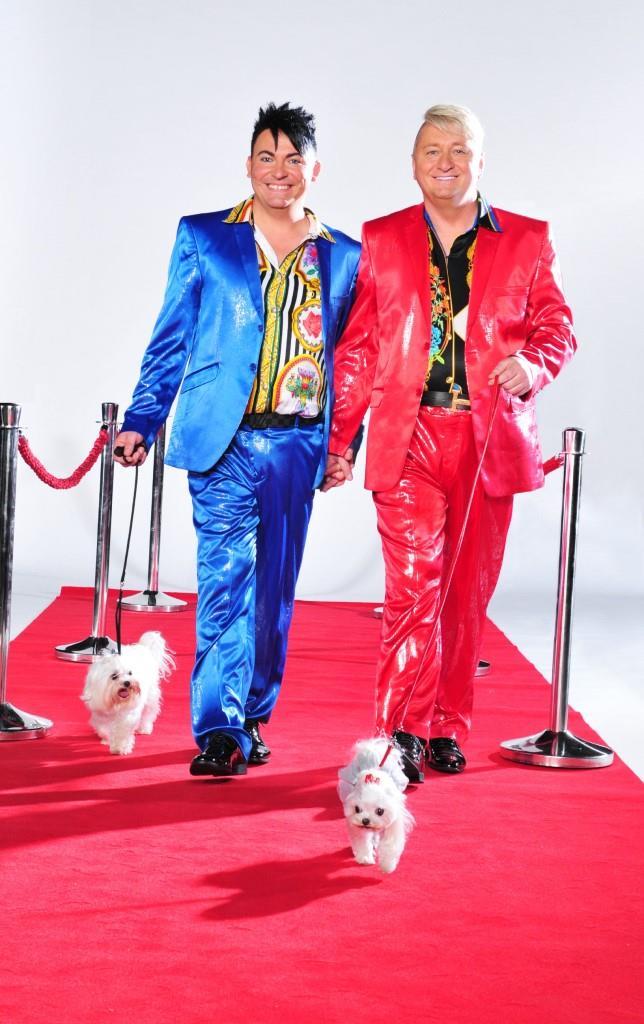 """Das schwule, bunte und schrille """"Hot der Schrott"""" TV-Paar aus Bayern Hubert Fella (r.) und Matthias Mangiapane - Foto: MG RTL D / Stefan Menne"""