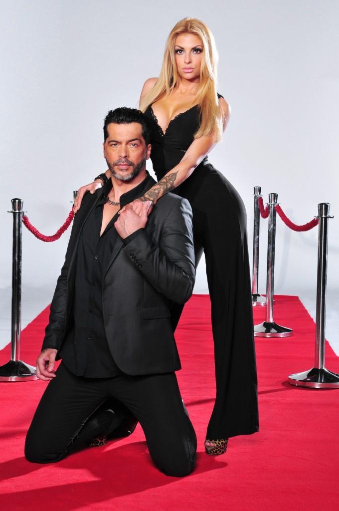 """Model und """"Bachelorette""""-Macho Aurelio Savina und Freundin Lisa Freidinger - Foto: MG RTL D / Stefan Menne"""