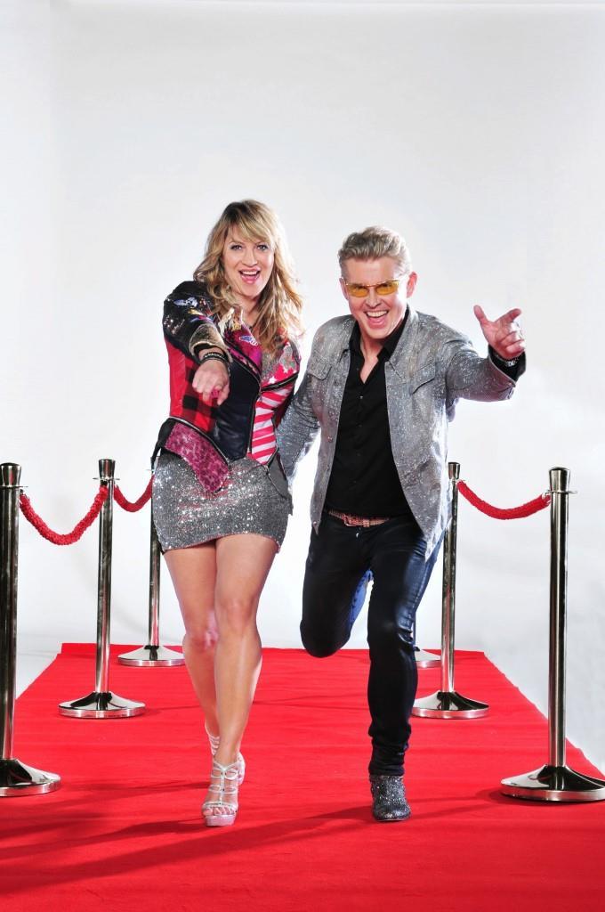 NDW-Star Markus Mörl und Sängerin Yovonne König - Foto: MG RTL D / Stefan Menne
