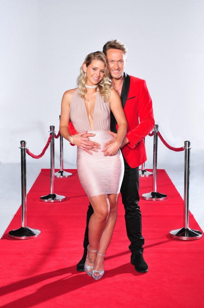 """Model und Sänger Nico Schwanz und Ex-""""Bachelor""""-Kandidatin Saskia Atzerodt - Foto: MG RTL D / Stefan Menne"""