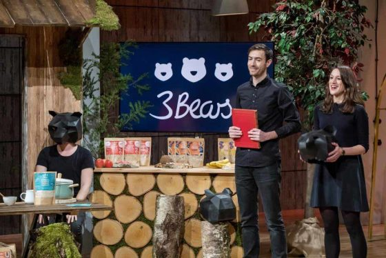 3Bears: Caroline Steingruber und Tim Nichols - Foto: MG RTL D / Bernd-Michael Maurer