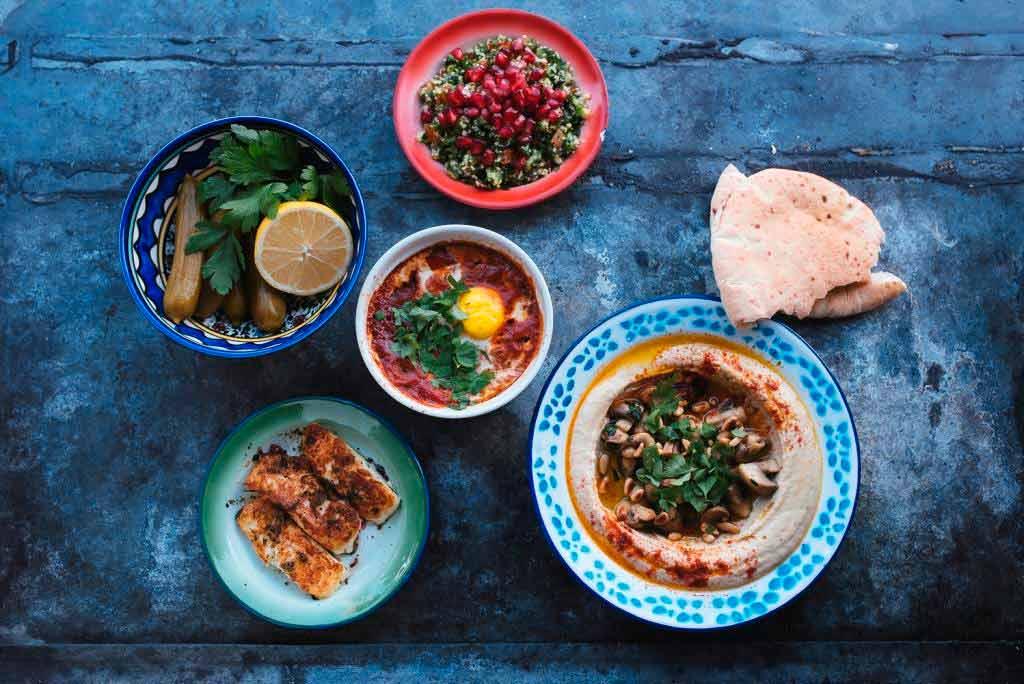 """Orientalische Spezialitäten gibt es bei """"Mashery Hummus Kitchen"""" - copyright: Vera Prinz"""