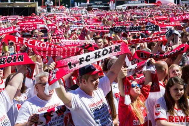 Die Fans vom 1. FC Köln machen jedes Spiel zum Heimspiel copyright: CityNEWS / Alex Weis