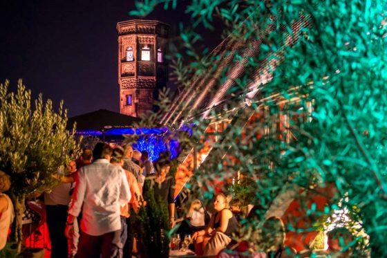 Der mediterrane Dachgarten als Highlight - copyright: Rheinloft Cologne / über Event Inc