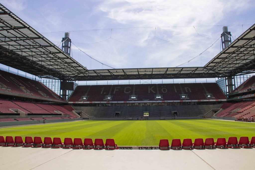 Im Kölner RheinEnergieSTADION bleiben vorerst die Ränge bei Bundesliga-Spielen des 1. FC Köln leer. copyright: CityNEWS / Alex Weis
